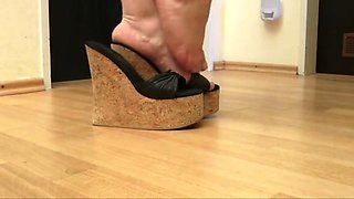 Hottest homemade High Heels, BBW sex movie
