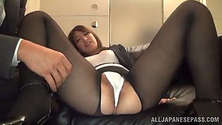 anri oonuki is fucked silly while wearing her office clothes