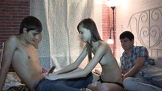 Curvaceous young russian girlfriend Kitana fucking hard