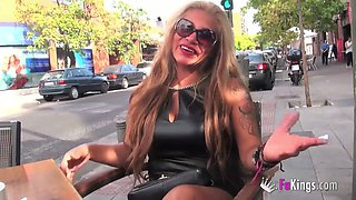 Alexa Blune is a blonde cougar who wants to play with guys