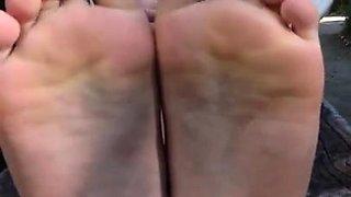 Hot Asian foot fetish fuck part 3