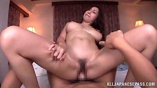 Arousing Asian doll Julia enjoys some hot pov sex