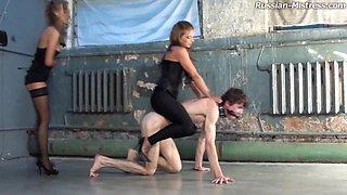 Russian-Mistress Video: Megan & Jennifer