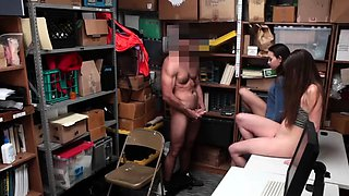 British police officer xxx Suspects initially deny theft but