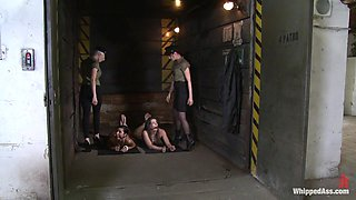 Czech Whores in HELL Military Debasement