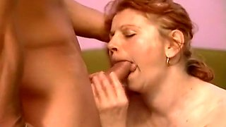 Redhead Granny With Big Tits Fucked