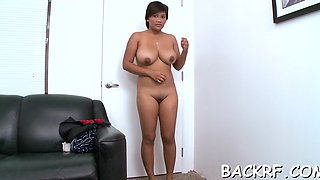 Naughty latin maid reina fucks wildly