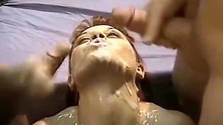 American Bukkake 8 (sperm academy)