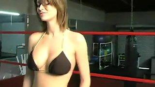 Locker room Ambush wrestling
