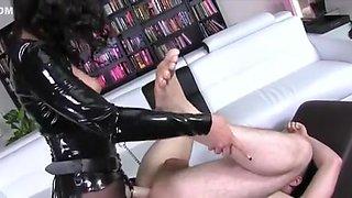 Exotic amateur Femdom, Strapon sex movie