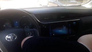 Turkish blowjob in car