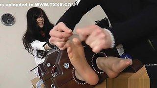 Rhianna tickled