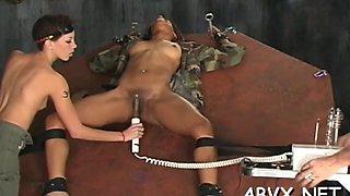 superb nudity in extreme bondage