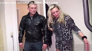 German MILF Seduce Young Guy to Fuck with her