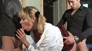 French fuck 3some