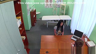 Sweet euro amateur pussyfucked by doctor