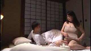 Japanese mom love story with young lover 2