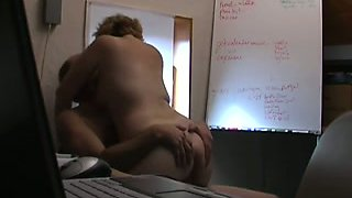 Cheating on my wife with BBW Australian secretary in her office