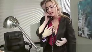 Sex Hot Action In Office With Naughty Horny Slut Girl (devon) video-18