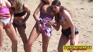 Teens and milfs share public sex amateur compilation