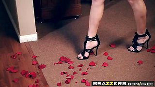 brazzers - real wife stories -  anal time for my valentine s