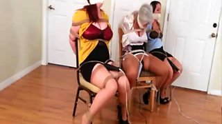 Sandra and friends chairtied with vibes