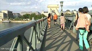 Alyssia Loop Naked On Public Streets