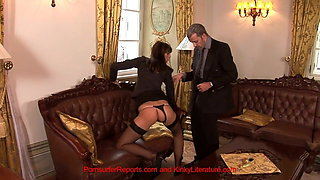 The Boss Is Horny So Secretary Uses Her Rectum To Relieve