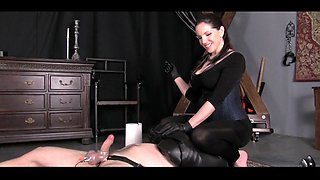 Mistress HUGE CUMSHOT