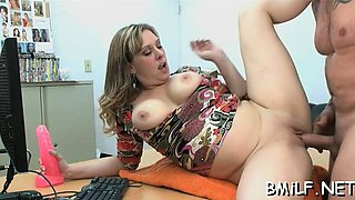Playful housewife Keira Kensley gets fucked so well