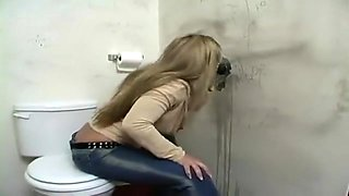 Linda Friday at the Gloryhole