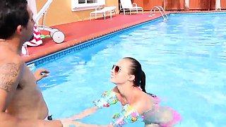 Outdoor teen orgy Swimming In Semen