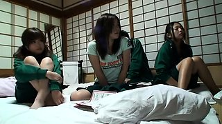 Lustful Oriental girls express their passion for hard meat