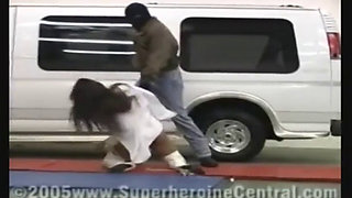 Big Titty Superheroine Avenger Used and Abused by Villain