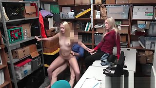 Hot blonde wife The mother and chum's daughter controlled to arrange a
