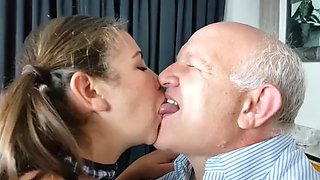 After school with my grandpa albert