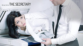 Rina Ellis in The Secretary - OfficeObsession