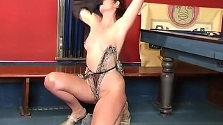 MILF Shoves Vibrator Into Her Ass