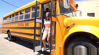 Digital Playground- School Bus Driver Comforts Sad Student With His Dick