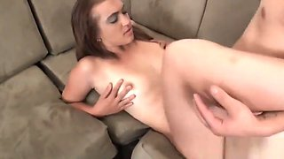 Sexy Brunette Ellie Loves To Tease And Fuck