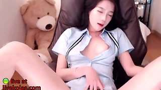 korean hottest 18yo schoolgirl striptease