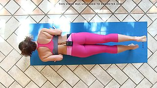 yes!!! fitness hot ASS hot CAMELTOE 107(yoga)