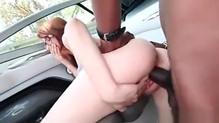 Redhead Teen In Glasses Pussy Nailed Hardcore