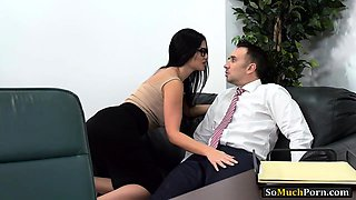 Huge boobs office woman asshole pounded by huge hard cock