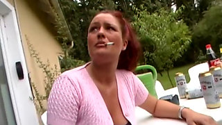 german chubby wife needs deep anal