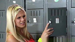 Wicked - Two hot blonde school girls fuck teacher