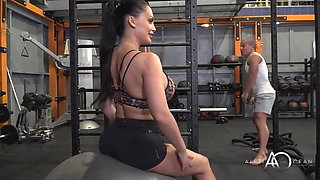 Aletta Ocean Hotness Gym Session