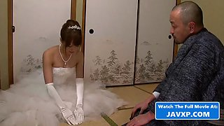Fucking a hot asian teen bride to be