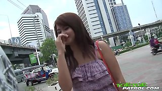 Thai Vixen Fingers My Puckered Asshole