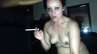 Me encanta verla chupar otra verga mientras fuma